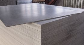Flat cement sheets